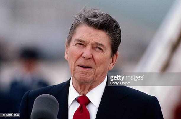 President Reagan Speaking