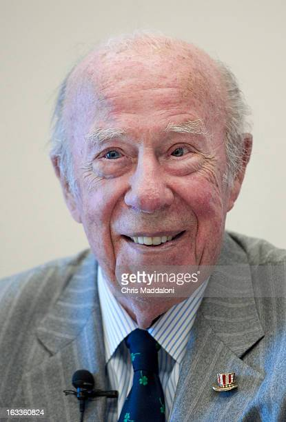 President Reagan's former Secretary of State George Shultz visited Capitol Hill for the first time in two decades speaking at a Partnership for a...