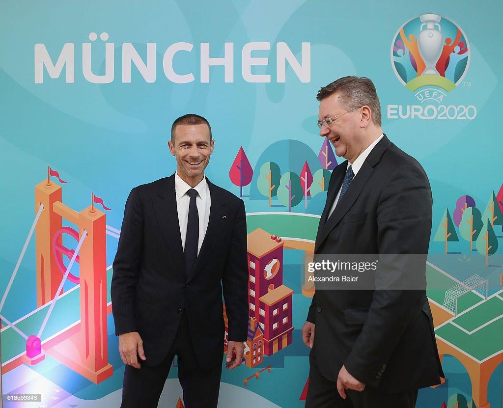 UEFA Euro 2020 - Logo Presentation