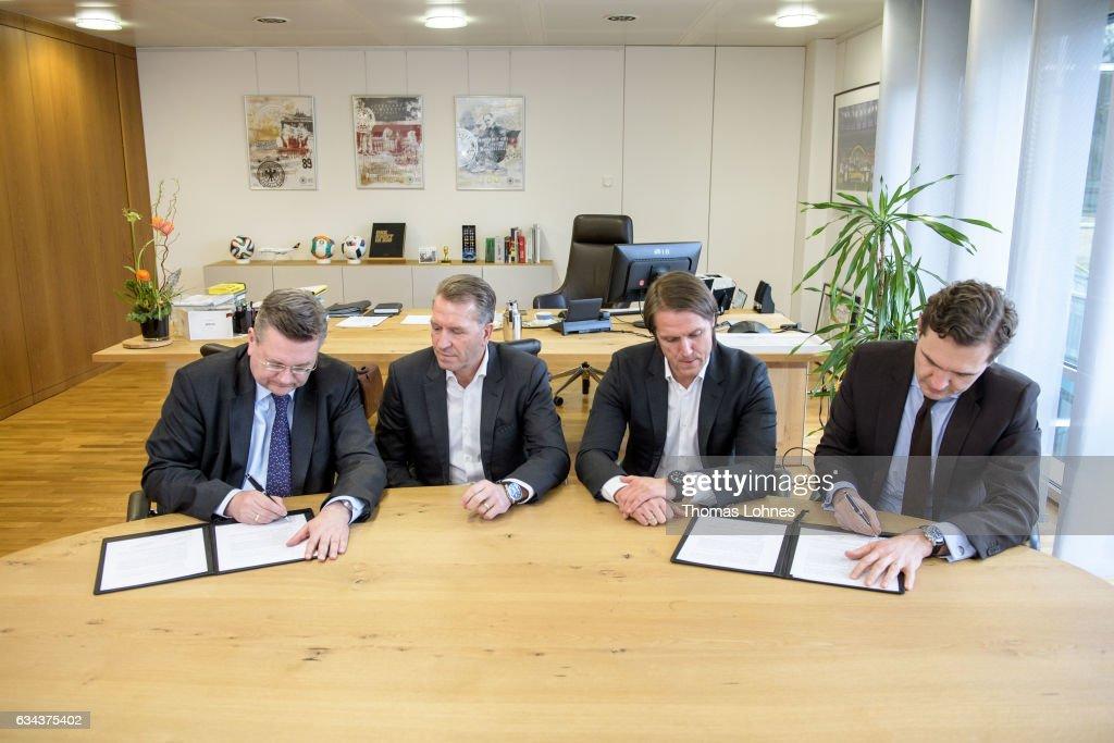 DFB Renews Contract : News Photo