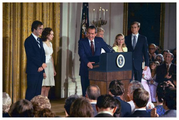Image result for president richard nixon officially resigned