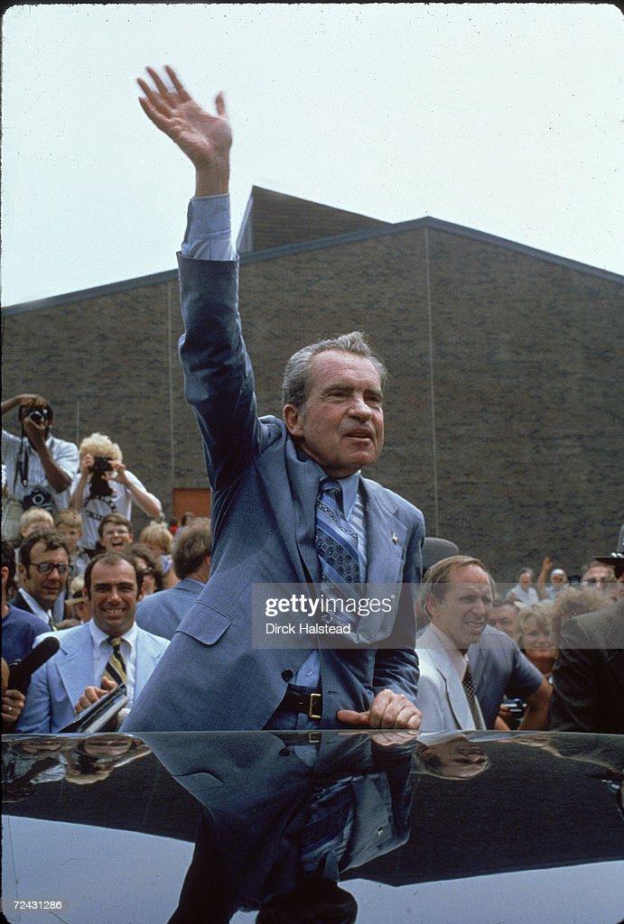 President Richard Nixon during a visit to Kentucky.