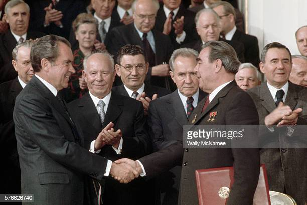 Leonid Brezhnev Stock Photos And Pictures Getty Images