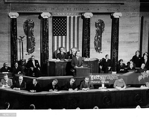 President Richard Nixon State of the Union 1/22/70