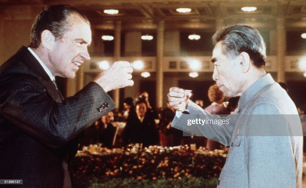 Nixon In China : News Photo