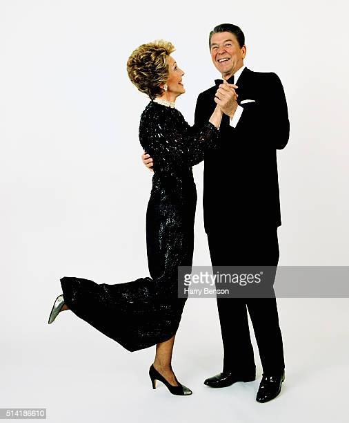 President Ronald Reagan and First Lady Nancy Reagan are photographed for the June 1985 issue of Vanity Fair Magazine in 1985 COVER IMAGE