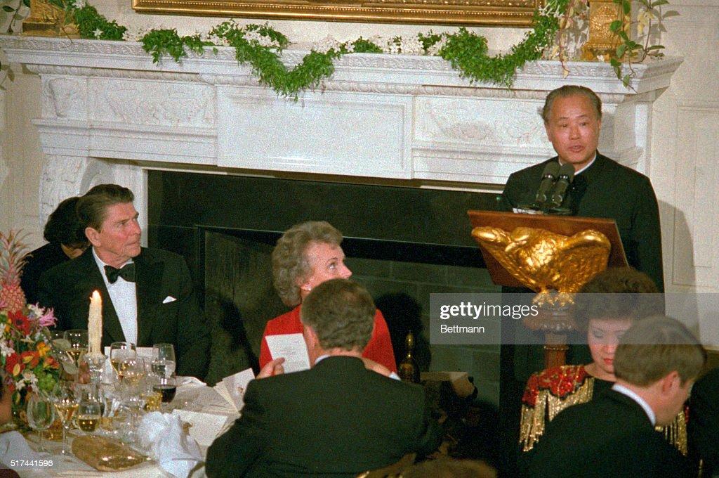 White House State Dinner : News Photo