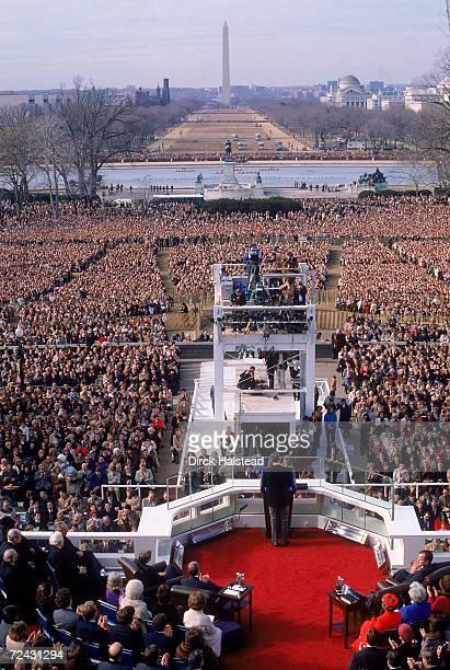 President Ronald Reagan inauguration