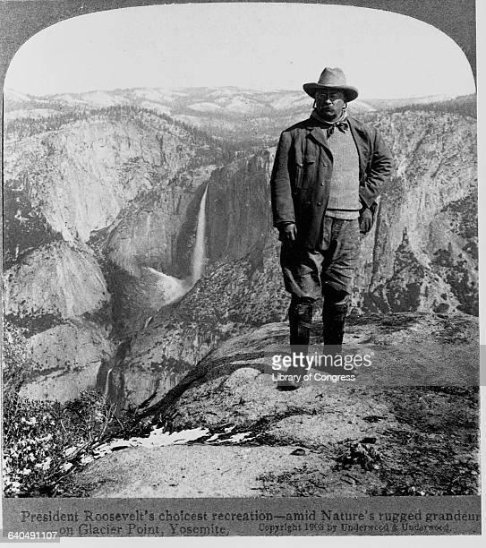 President Roosevelt at Yosemite
