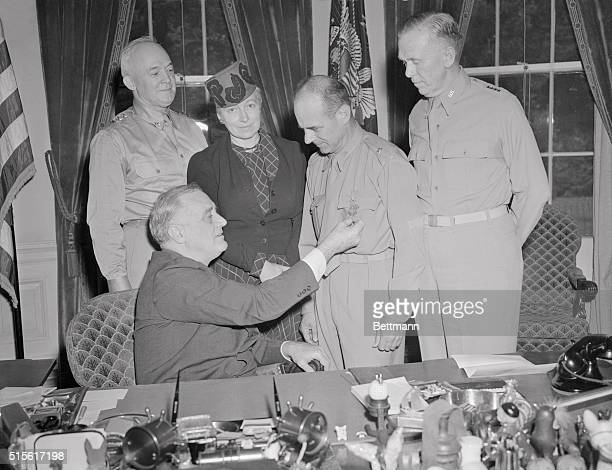 President Roosevelt Awarding James Doolittle the Congressional Medal of Honor