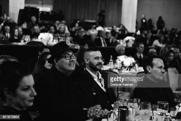 CDG President Salvador Perez attends the Costume Designers Guild Awards at The Beverly Hilton Hotel on February 20 2018 in Beverly Hills California