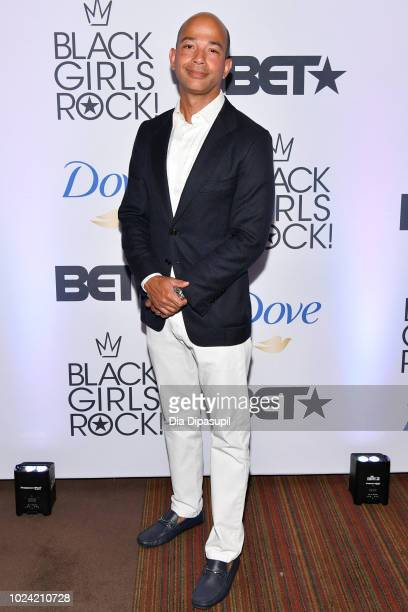President Scott M Mills attends the Black Girls Rock 2018 Pre Dinner at Nico Kitchen Bar on August 26 2018 in Newark New Jersey