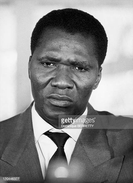 President Sekou Toure of Guinea in 1958