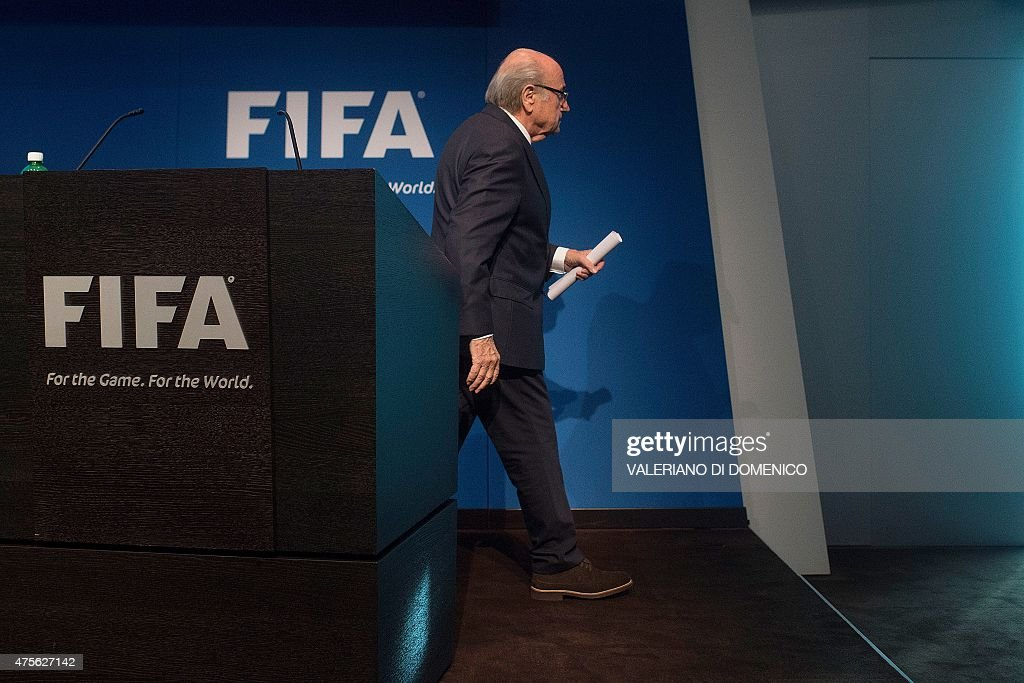 FBL-FIFA-CORRUPTION-BLATTER : News Photo