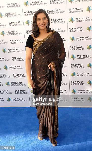 President, Shabana Azmi from India attends the Asia Pacific Screen Awards at the Sheraton Mirage on November 13, 2007 on the Gold Coast, Australia.