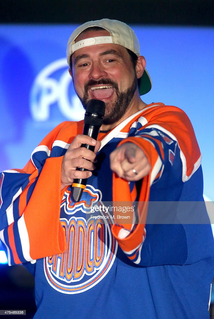 President, SModCo Kevin Smith speaks at the 7th Annual Produced By Conference at Paramount Studios on May 31, 2015 in Hollywood, California.