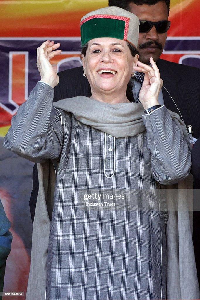 Himachal Pradesh Assembly Elections: Sonia Gandhi Rally At Kangra