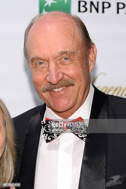 President Stan Smith attends the 2015 International Tennis Hall of Fame legends ball at Cipriani 42nd Street on September 12 2015 in New York City