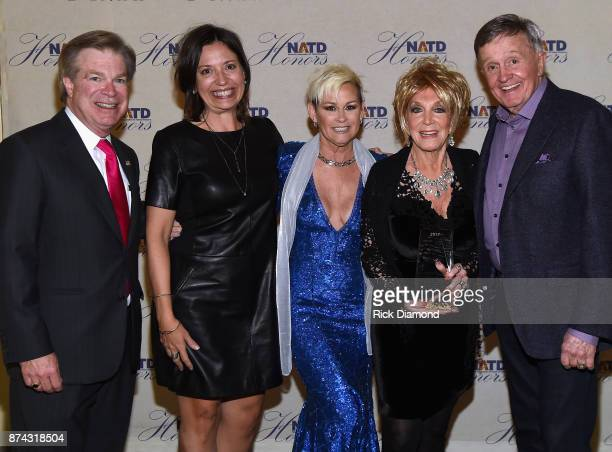 President Steve Tolman Senior Vice President of Programming and Artist Relations Grand Ole Opry Sally Williams Lorrie Morgan Jeannie Seely and Bill...