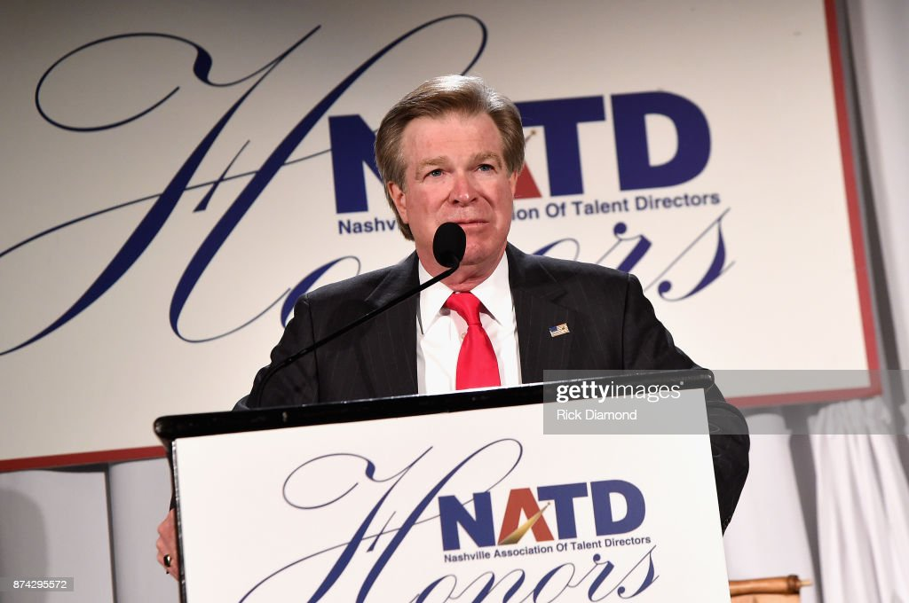 President Steve Tolman speaks onstage during the 2017 NATD Honors Gala at Hermitage Hotel on November 14, 2017 in Nashville, Tennessee.