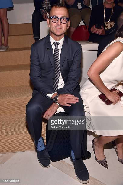 President Steven Kolb attends Ralph Lauren Spring 2016 during New York Fashion Week The Shows at Skylight Clarkson Sq on September 17 2015 in New...