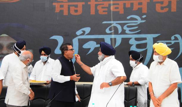 IND: Akali Dal Forms Alliance With BSP For 2022 Punjab Assembly Polls