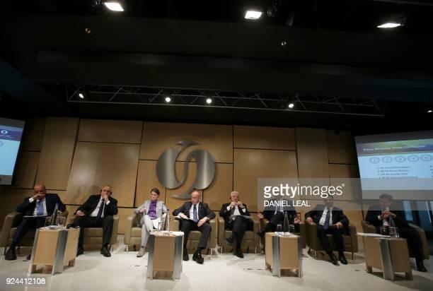 EBRD President Suma Chakrabarti Bulgaria's Prime Minister Boyko Borissov Serbia's Prime Minister Ana Brnabic Kosovo's Prime Minister Ramush Haradinaj...