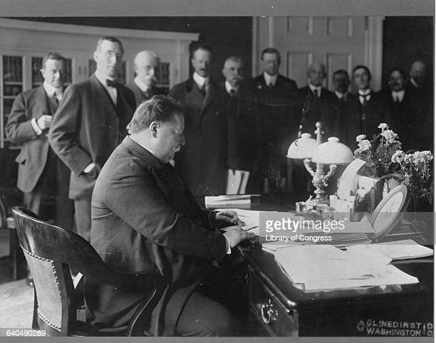 President Taft in the Oval Office