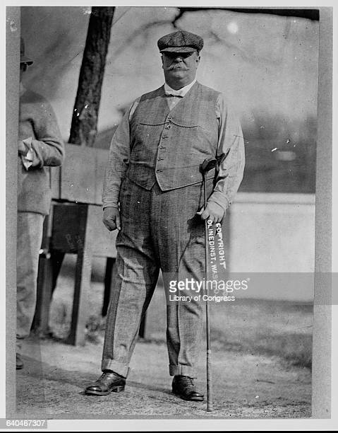 President Taft on Golf Course