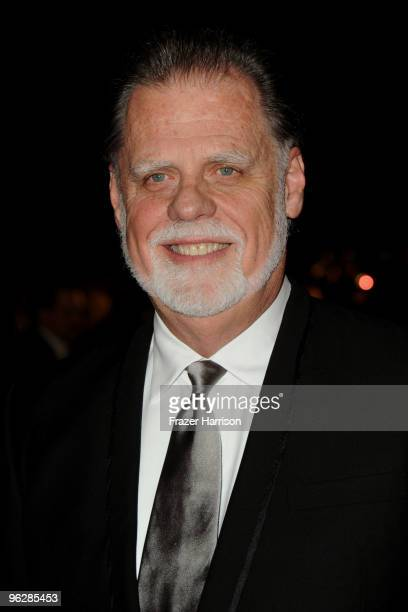 President Taylor Hackford arrives at the 62nd Annual Directors Guild Of America Awards at the Hyatt Regency Century Plaza on January 30 2010 in...