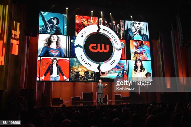 President The CW Network Mark Pedowitz speaks onstage during The CW Network's 2017 Upfront at New York City Center on May 18 2017 in New York City