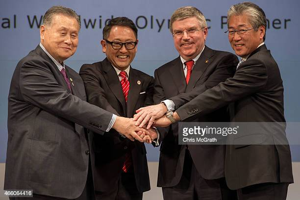 President The Tokyo Organizing Committee of the Olympic and Paralympic Games Mr Yoshiro Mori President and CEO of Toyota Motor Corporation Akio...