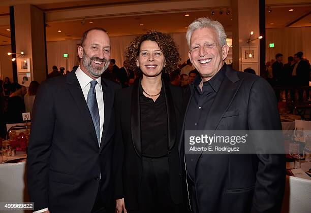 President Universal Pictures and March of Dimes Cochair Jimmy Horowitz producer Donna Langley and producer Joe Roth attend the March Of Dimes...