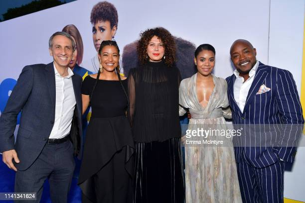 President Universal Pictures Peter Cramer Tina Gordon Chairman Universal Filmed Entertainment Group Donna Langley Regina Hall and Will Packer attend...
