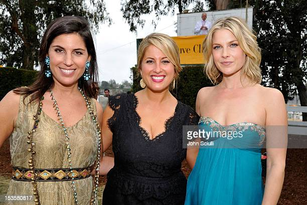 President Veuve Clicquot USA Vanessa Kay director of communications Veuve Clicquot Christine Kaculis and actress Ali Larter attend the Third Annual...