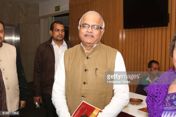 ICCR president Vinay Sahasrabuddhe during a launch of scholar Kavita A Sharma's book 'Life is As is Teachings from the Mahabharata' coauthored by...