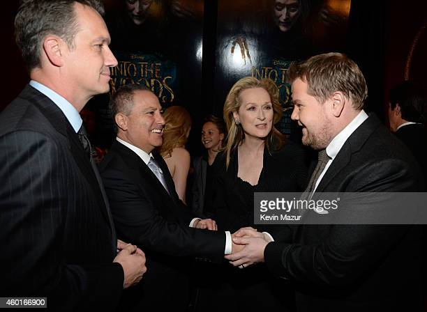 President Walt Disney Studios Motion Pictures production Sean Bailey President The Walt Disney Studios Alan Bergman Meryl Streep and James Corden...