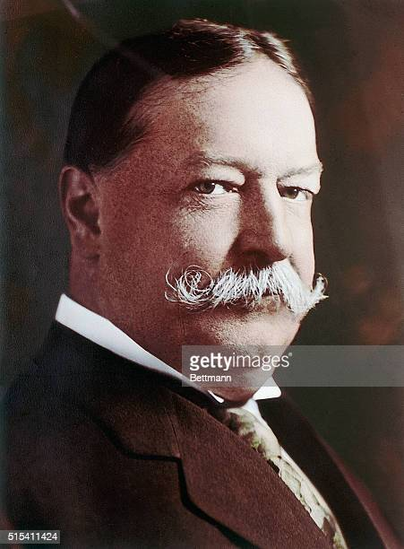 President William Howard Taft Head and shoulders photograph Ca 19091913
