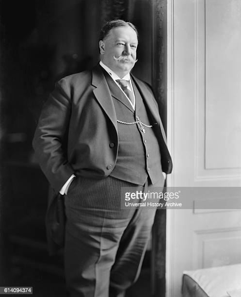 US President William Howard Taft Portrait circa 1910