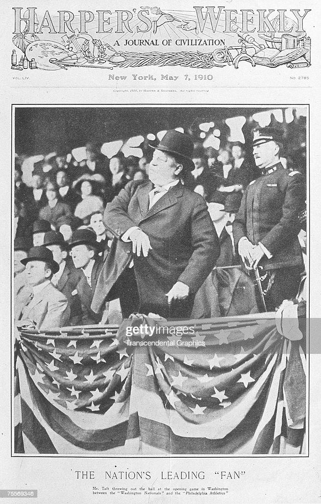 President Taft First Ball Harpers : News Photo