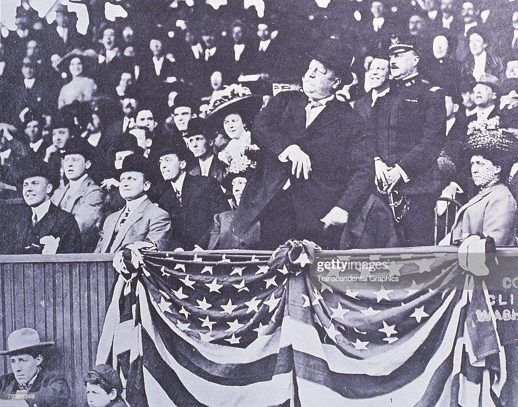 President Taft First First Ball : News Photo