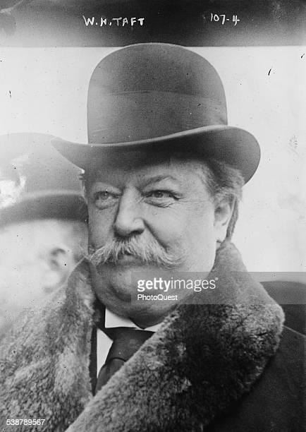 President William Howard Taft, Washington DC, late 1900s or early 1910s.