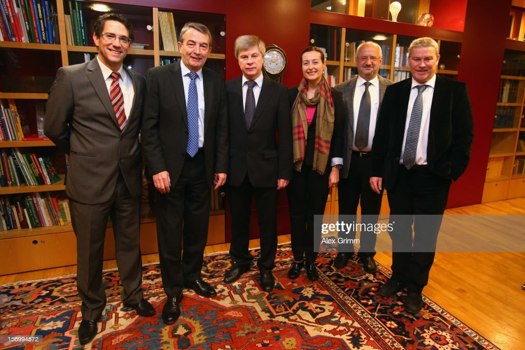 Russian Football Federation Delegation Visits DFB Headquarter