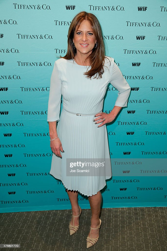 President, Woman In Film Cathy Schulman attends Tiffany & Co. And Women In Film Celebrate Sue Kroll on June 3, 2015 in Beverly Hills, California.