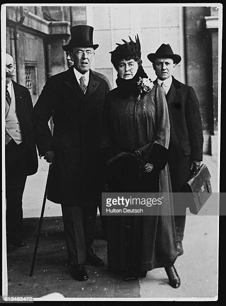 President Woodrow Wilson and First Lady Edith Wilson