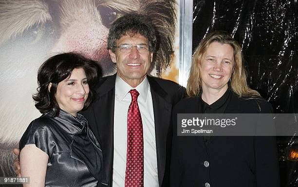 President Worldwide Marketing Warner Bros Pictures Sue Kroll President Chief Operating Officer of Warner Bros Alan F Horn and wife Michelle Horn...