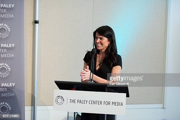 President/CEO at The Paley Center For Media Maureen J. Reidy speaks at the Paley Center For Media Presents Chris Albrecht And Courtney A. Kemp In...