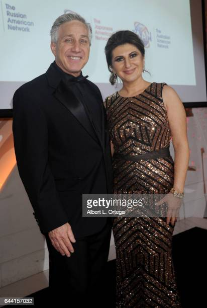 President/CEO Kenn Phillips of The Valley Economic Alliance and President/founder Lousine Karibian of The World Networks art the 2017 Entrepreneur...
