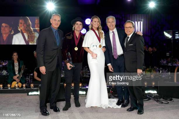 BMI President/CEO Mike O'Neill Ross Copperman Nicolle Galyon BMI's Mike Steinberg and BMI Vice President Creative Jody Williams attend as BMI...
