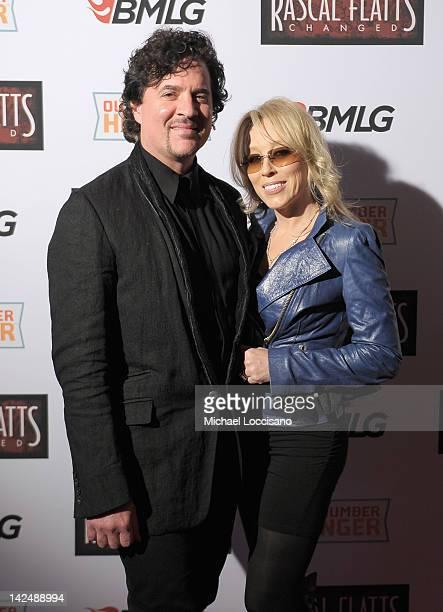 President/CEO of Big Machine Label Group Scott Borchetta and Sandi SpikaBorchetta attend Rascal Flatts CHANGED OneNightOnly Movie Theater Event at...
